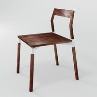 3D parkdale chair model