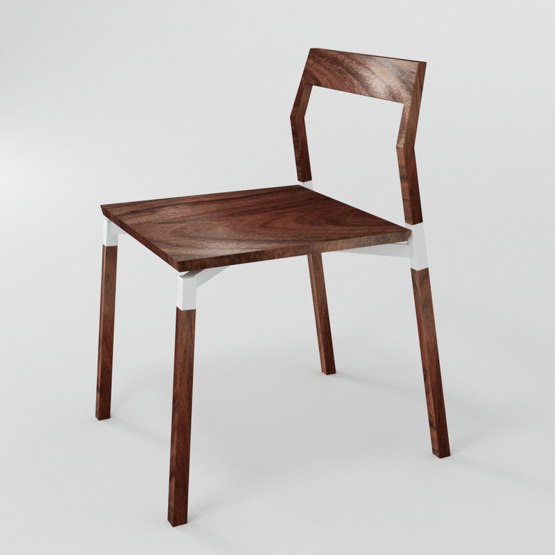 3D parkdale chair model