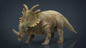 triceratops dinosaur model