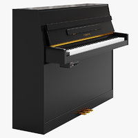 digital piano yamaha 3D