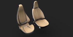 concept seats 3D model