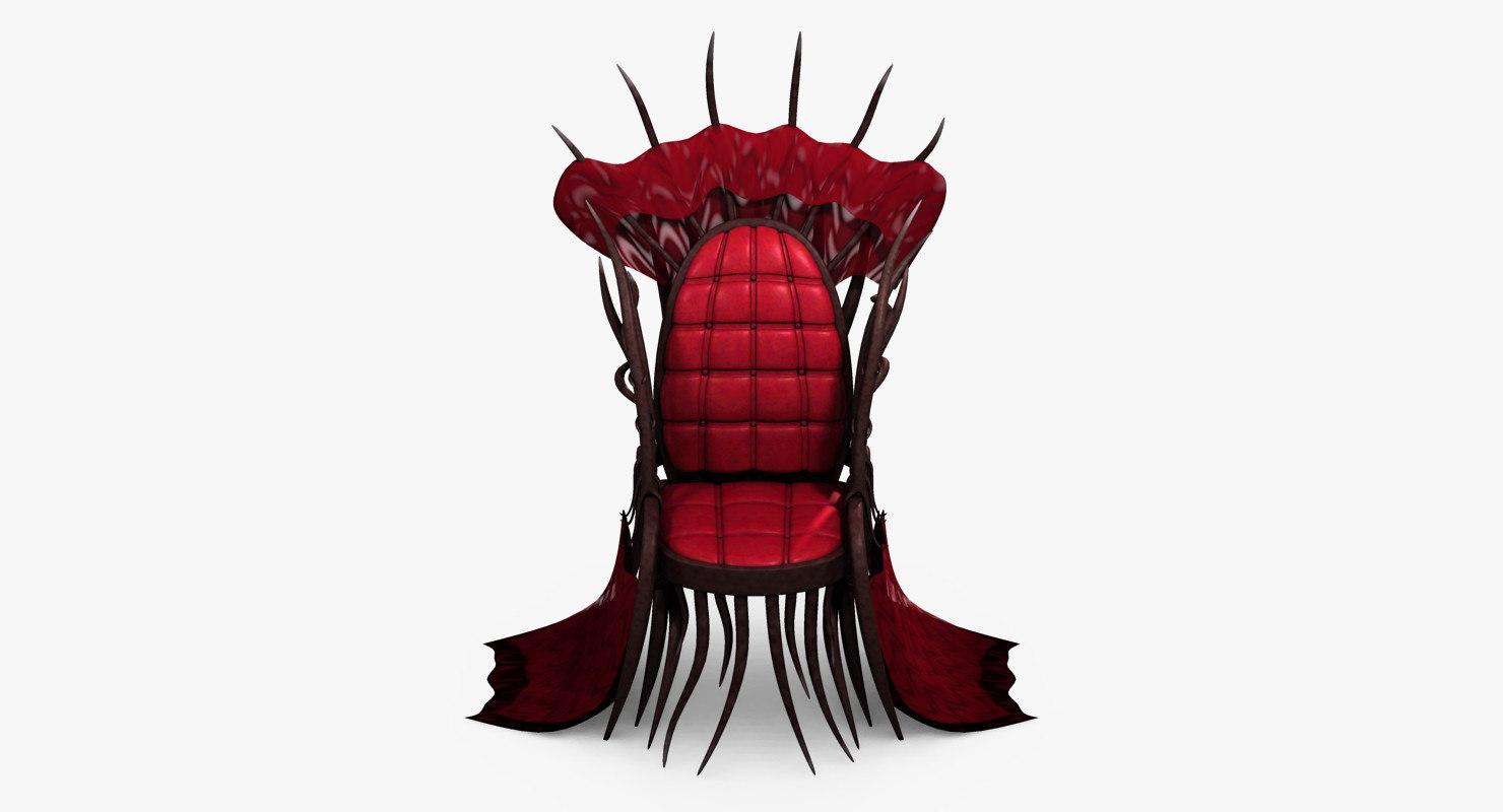 throne evil 3D model