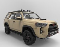 Toyota 4Runner 2018 TRD Pro edition with 4x4 accesories