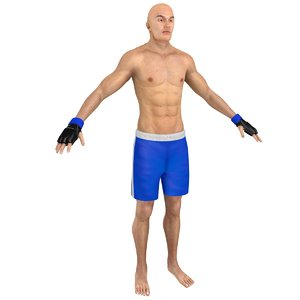 mma fighter 3D