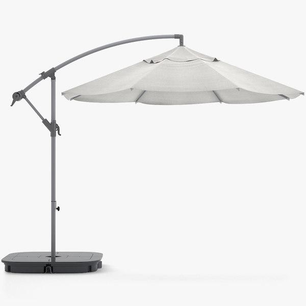 ikea parasol 3D model