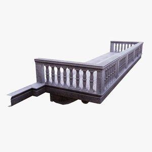 balcony terace 3D model