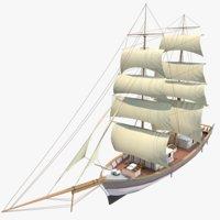 The Kronor ar Stockholm Ship Scarlet Sails