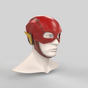 3D helmet justice league printing