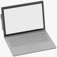 microsoft surface book 2 3D model