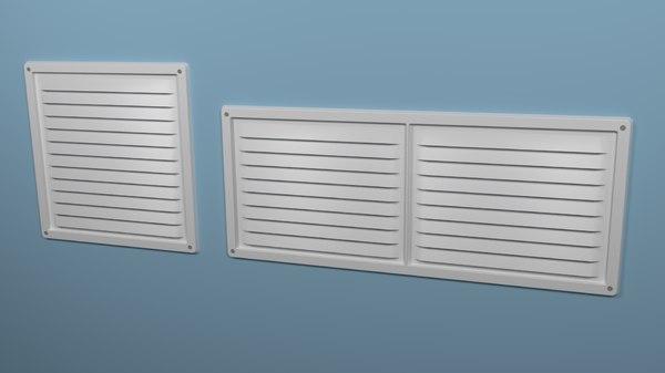 3D vents