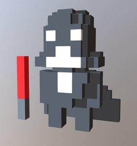 3D voxel model