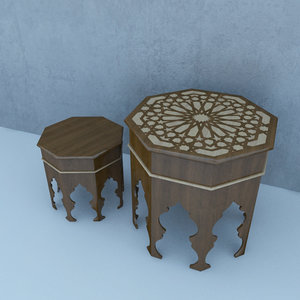 3D traditional table