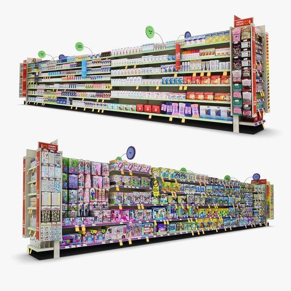 3D aisle 09 - model