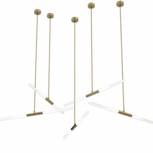 bentudesign suspension lamp 3D model