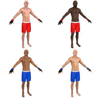 pack mma fighter model