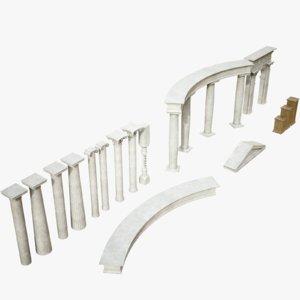 3D lightwave column model