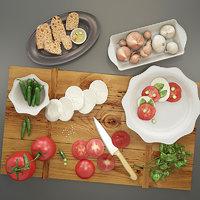 salad tomato model