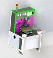 acf laminating machine 3D model