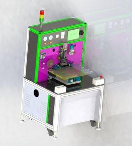 acf laminating machine 3D model