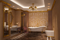 Bathroom Luxury Gold 1