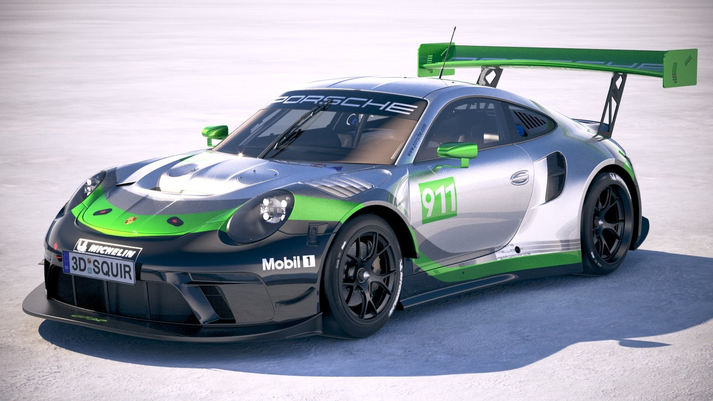 porsche 911 gt3r model
