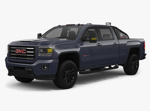 2018 gmc sierra 2500hd 3D model