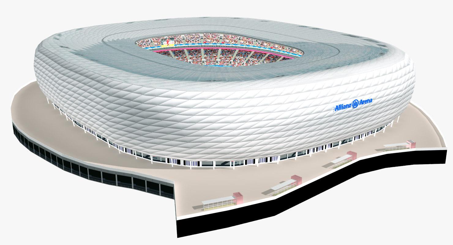 3D allianz arena