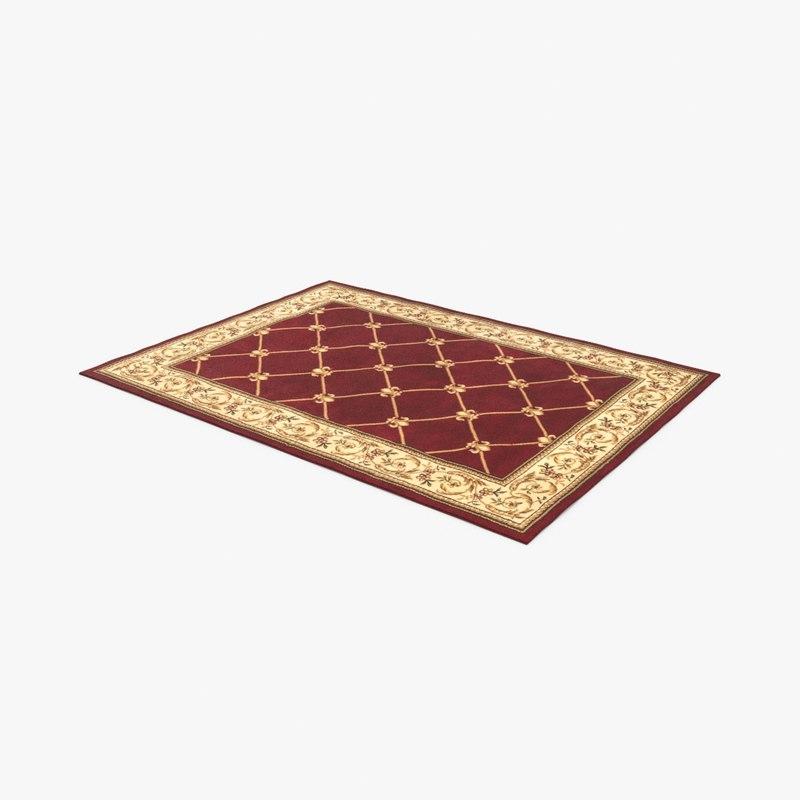 classical-area-rug model