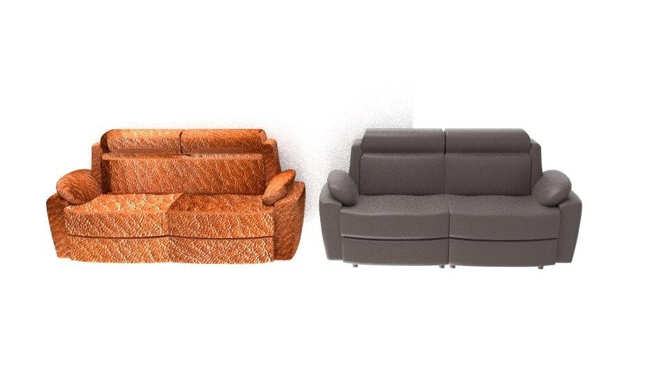 3D alessi sofa model