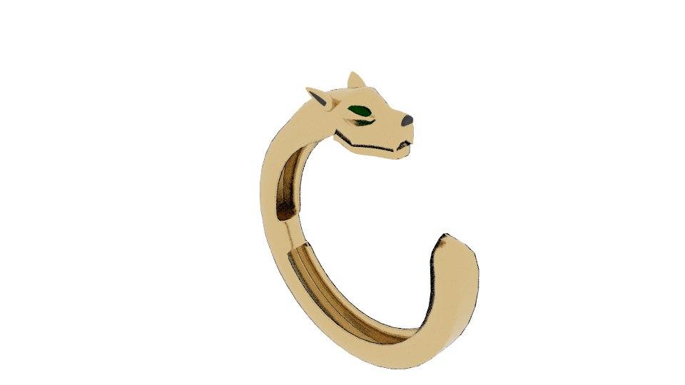 panther bracelet 3D model