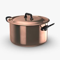 3D model classical-cookware---stockpot