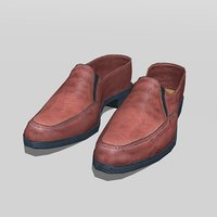 men shoes model