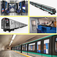 Subway Trains Collection