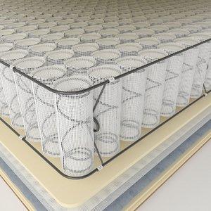 3D spring mattress