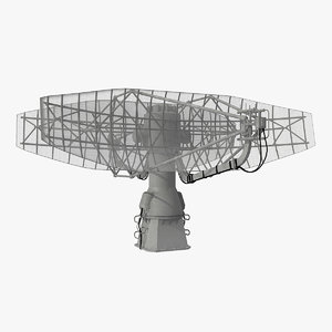 3D model radar ship rls podcat