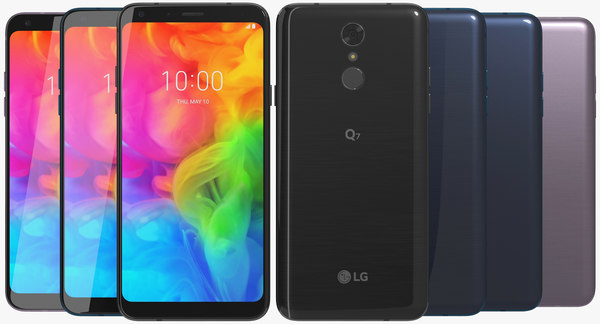 realistic lg q7 colors model