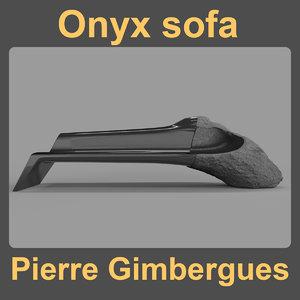 onyx sofa 3D