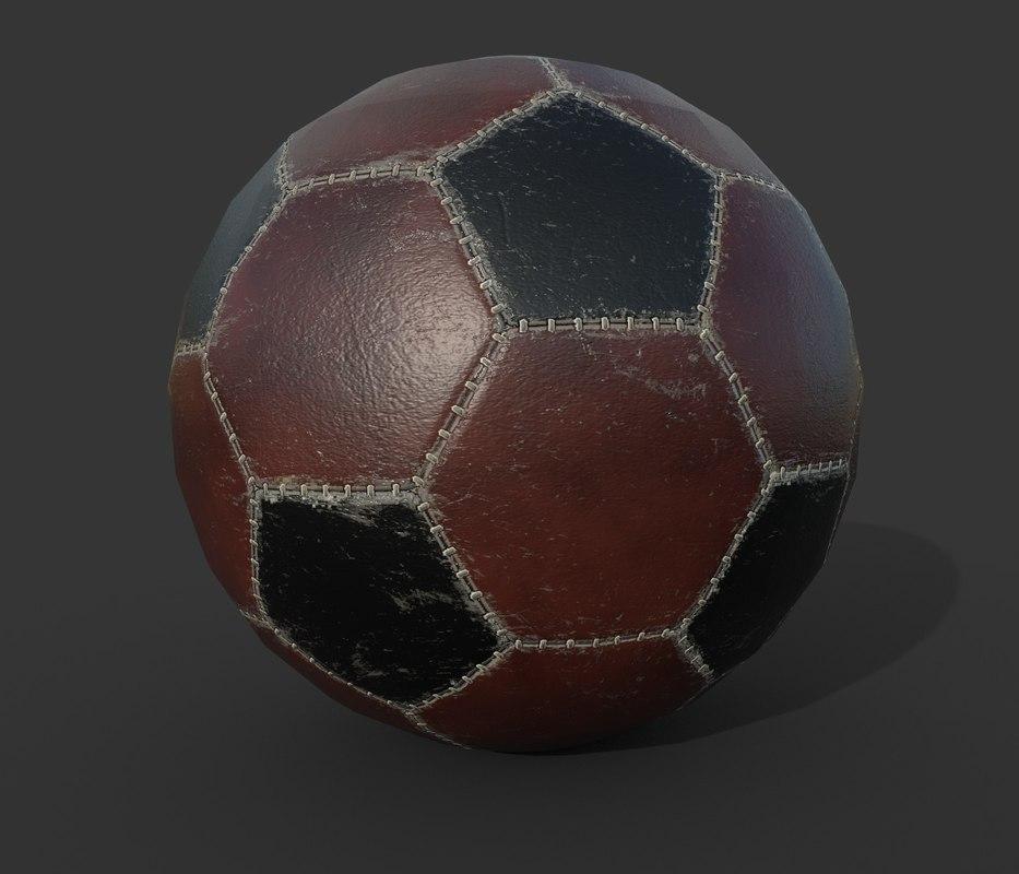 soccer ball pbr model
