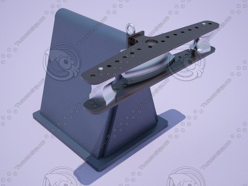 3D model tube bender
