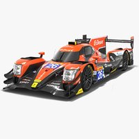3D model g-drive racing oreca 07