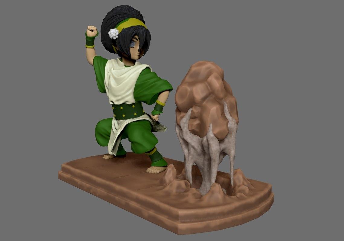 earth bender 3D model