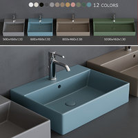 smile washbasin 3D