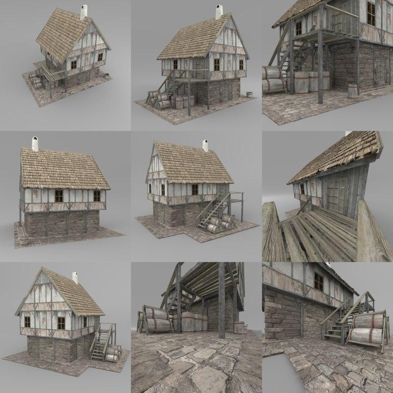 3D house fantasy