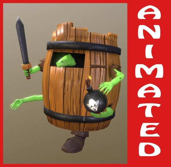 animation 4k model