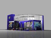 informtec exhibition stand 3D model
