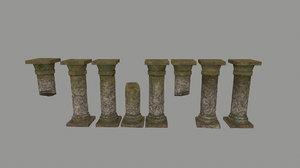 pillar 3D
