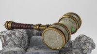 3D dwarven hammer model