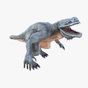 3D monster rex model
