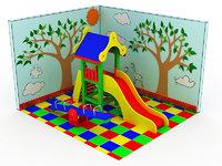children playground 350x400 cm model