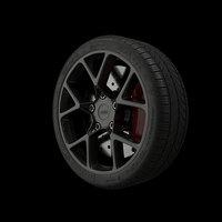 3D sports wheel